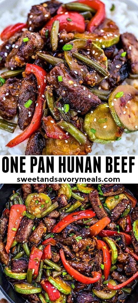 Easy Hunan Beef Recipe