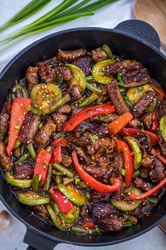 30 Minute Hunan Beef Recipe