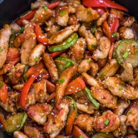One Pan Hunan Chicken