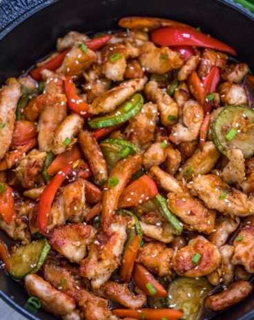One Pan Hunan Chicken