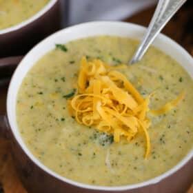 Best Instant Pot Broccoli Cheddar Soup
