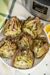 Instant Pot Steamed Artichokes