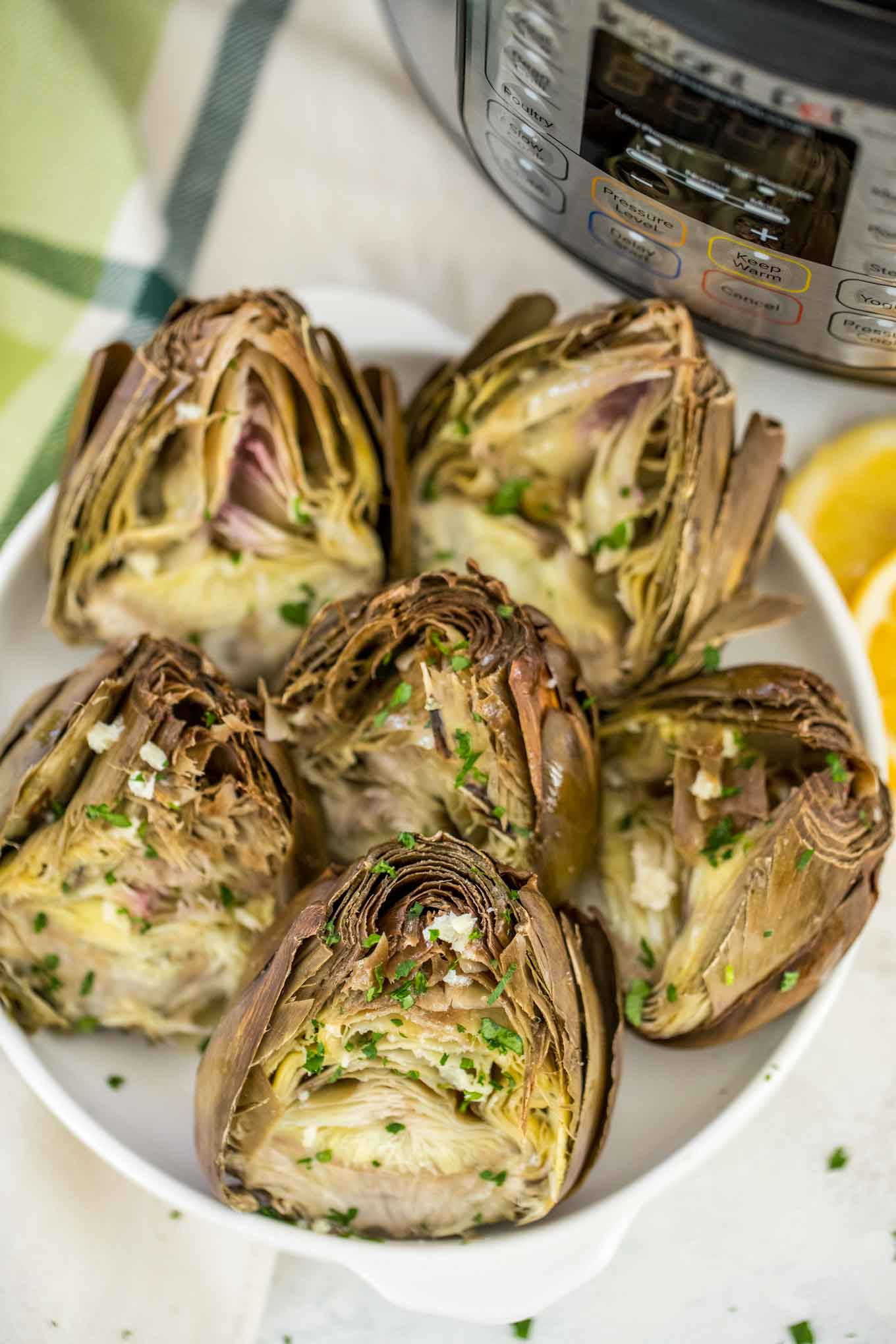 Instant Pot Steamed Artichokes Video Sweet And Savory Meals