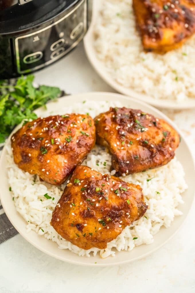 Slow Cooker Brown Sugar Garlic Chicken Recipe