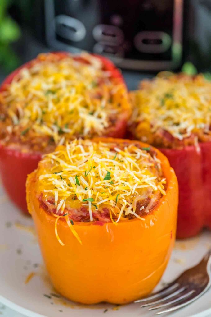 Slow Cooker Mexican Stuffed Peppers Recipe