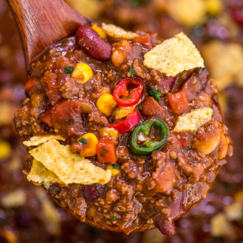 Classic Beef Chili Recipe Sweet And Savory Meals