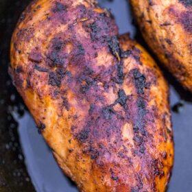 Easy Blackened Chicken