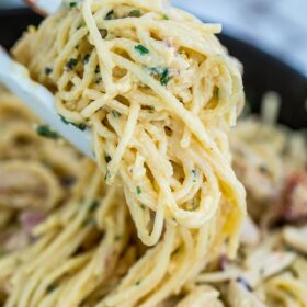 Chicken Carbonara Recipe