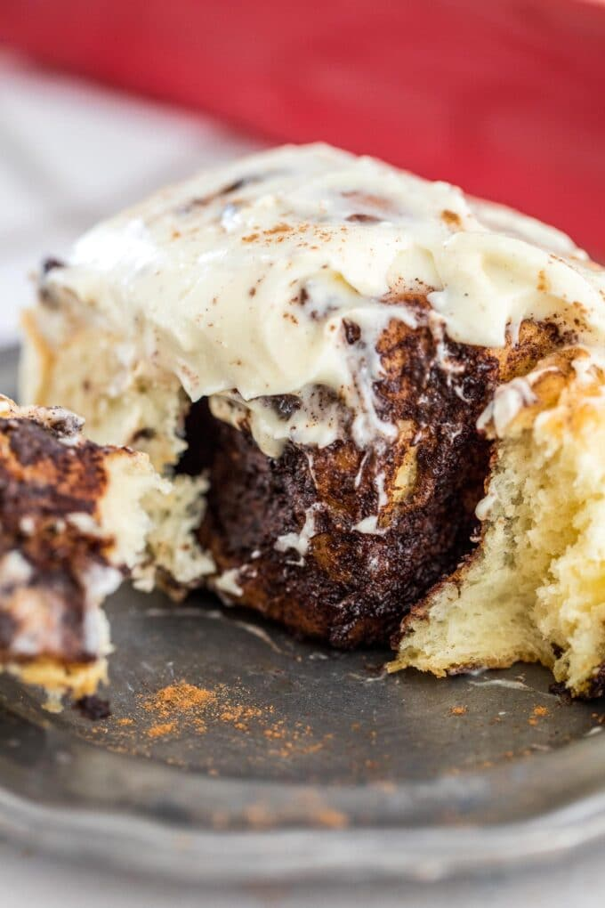 Best Cinnamon Rolls with Cream Cheese Frosting
