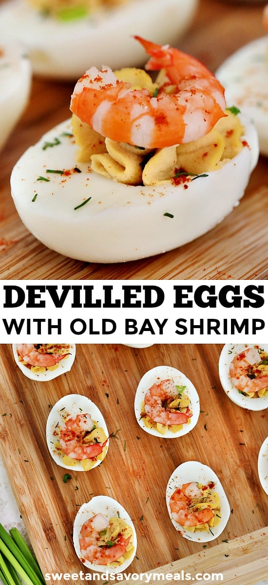 Deviled Eggs with Old Bay Shrimp Recipe
