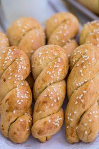 Braided Easter Greek Cookies