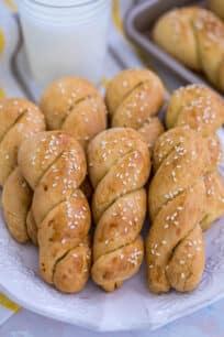 Braided Easter Greek Cookies Recipe