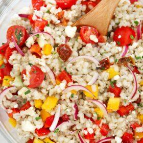 Easy Farro Salad