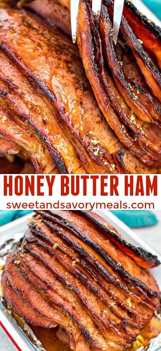 Baked Honey Butter Ham Recipe