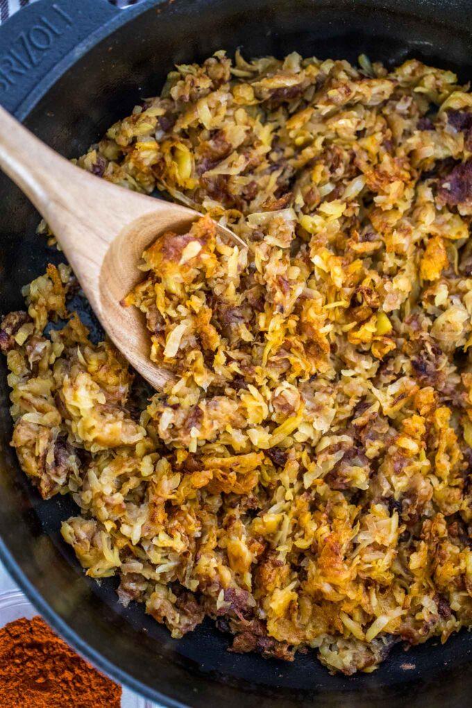 Crispy Hash Browns Recipe