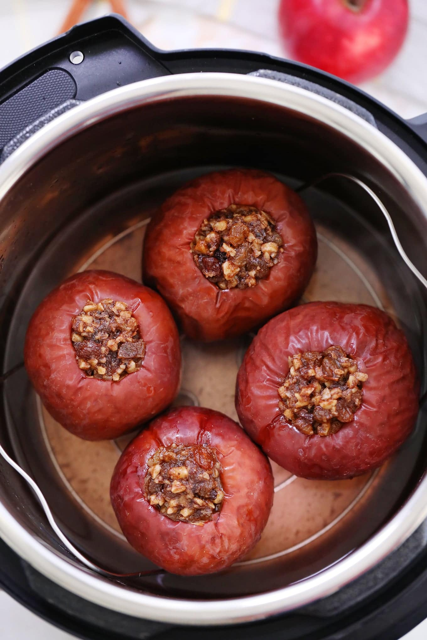 Instant Pot Baked Apples Healthy Recipe Sweet And Savory Meals