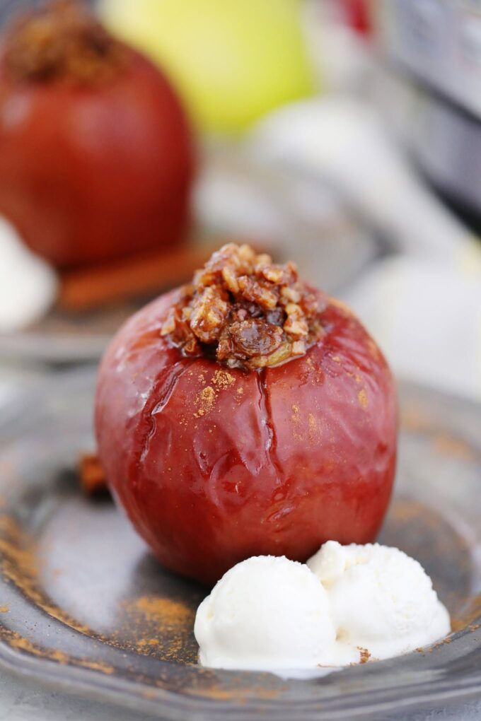 Homemade Instant Pot Baked Apples Recipe