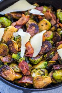 Keto Brussels Sprouts with Bacon