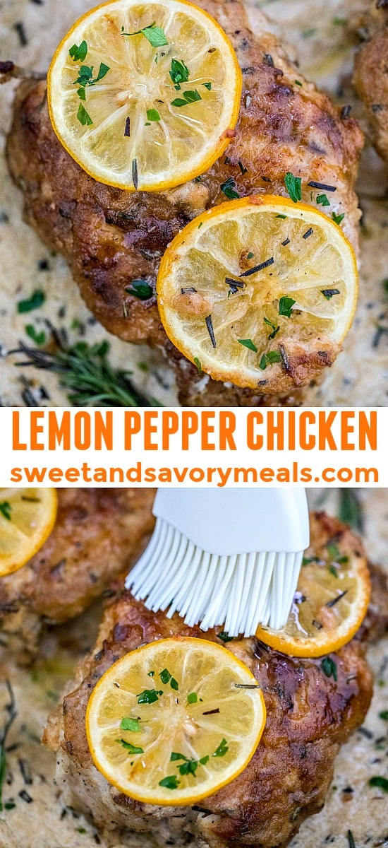 image of Lemon Pepper Chicken for pinterest