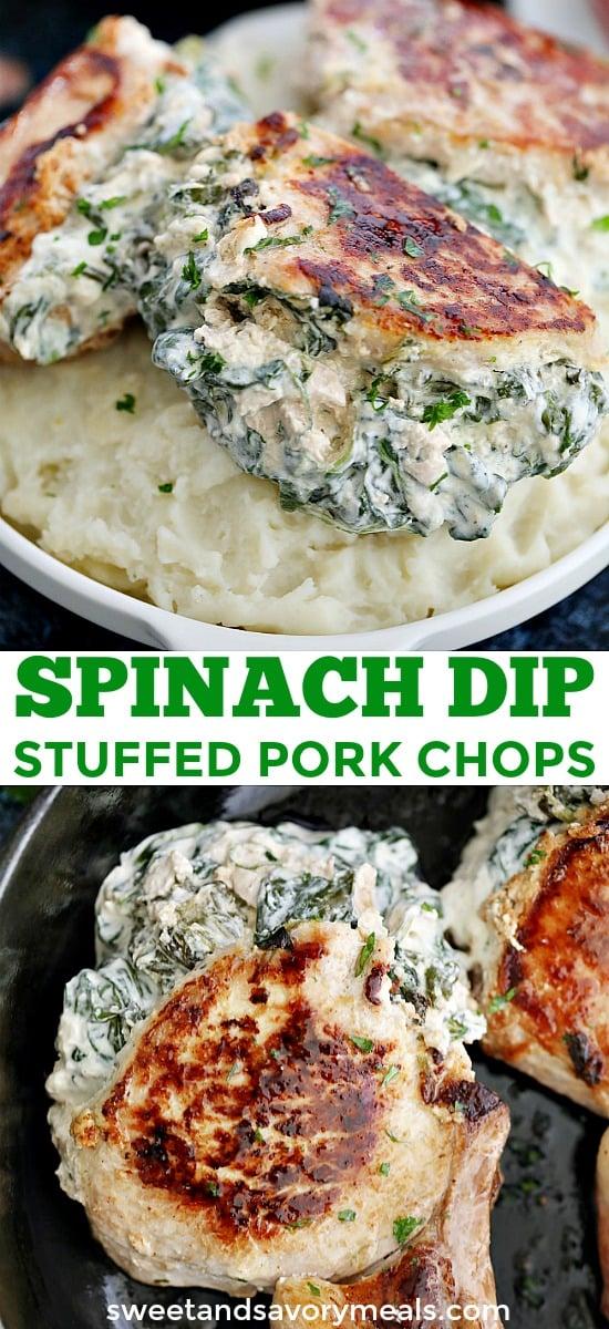 Stuffed Pork Chops Recipe