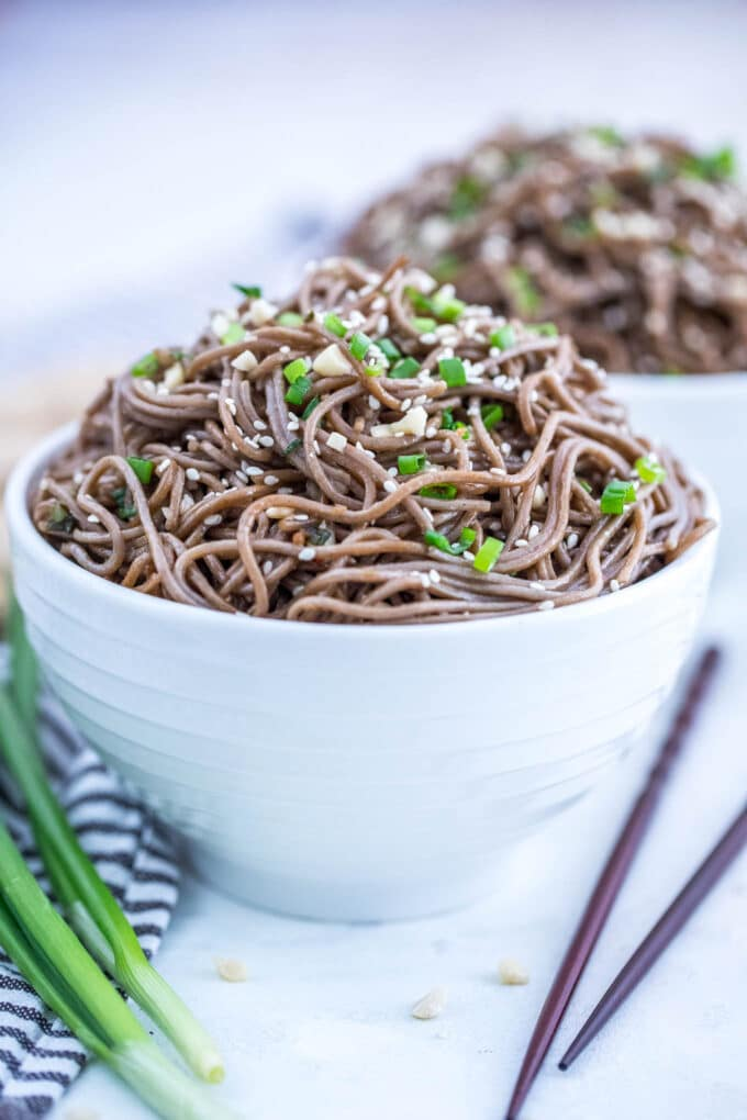 Healthy Soba Noodles Recipe