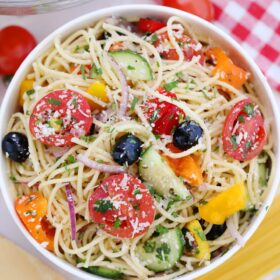 Spaghetti Salad Recipe