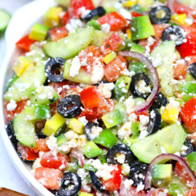 Photo of Greek Salad.