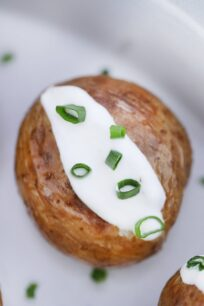 Instant Pot Baked Potatoes Recipe