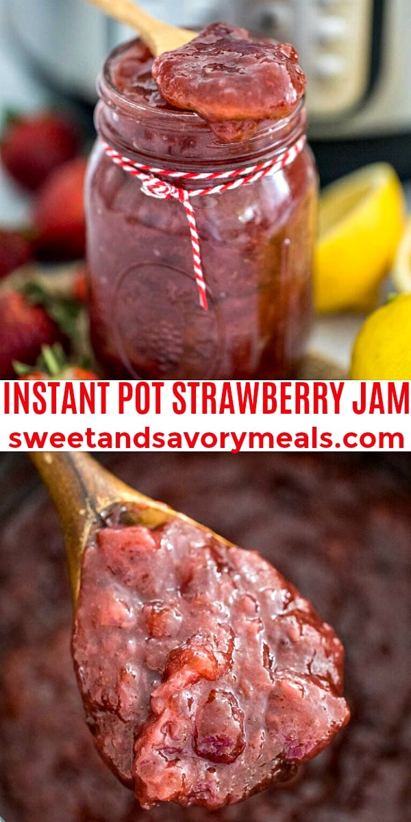 easy instant poy strawberry jam pin