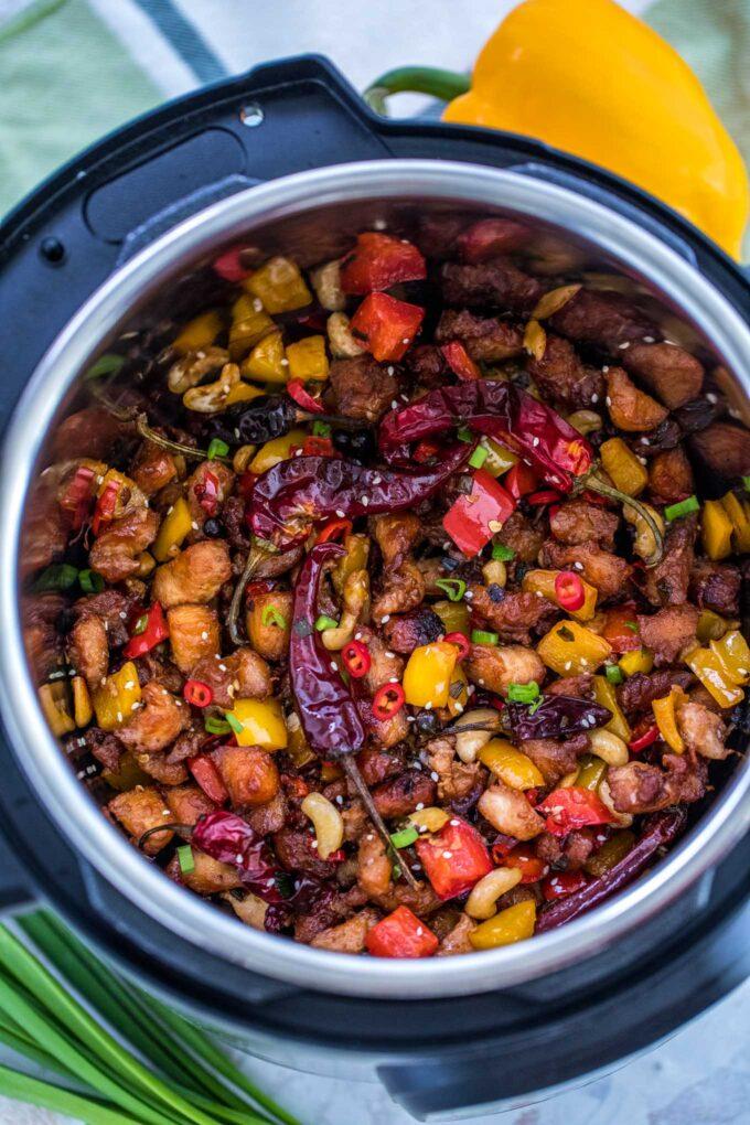 Instant Pot Szechuan Chicken