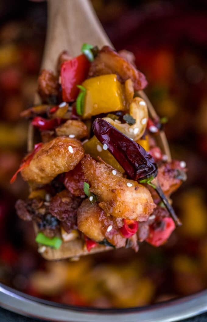 Instant Pot Szechuan Chicken Recipe