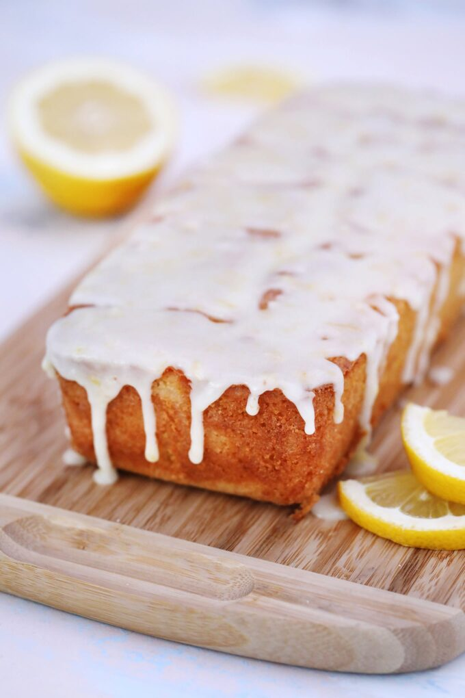 Lemon Pound Cake Loaf