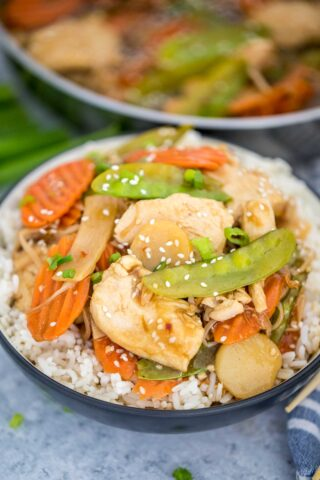 Homemade Moo Goo Gai Pan Recipe