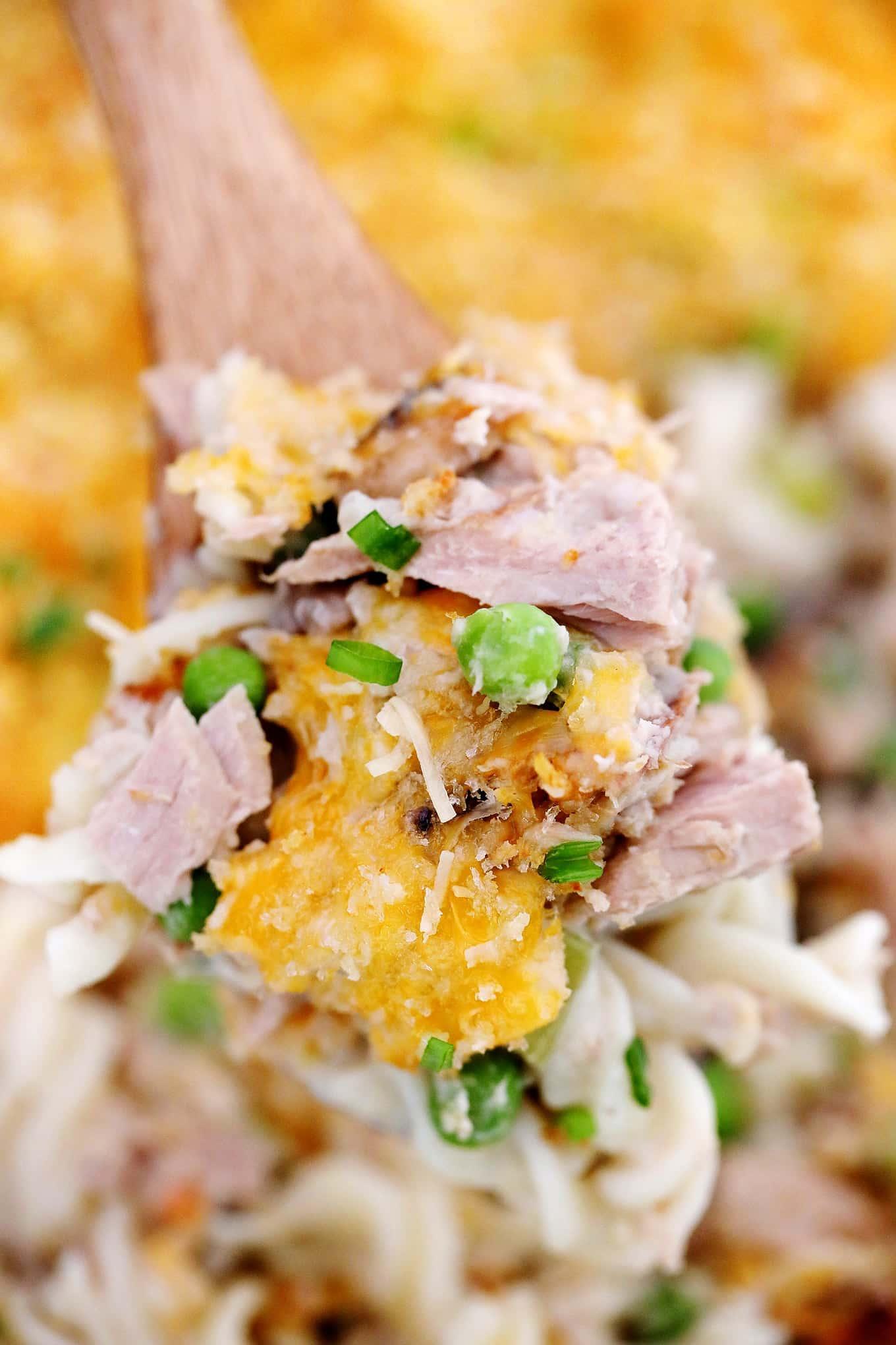 Tuna Noodle Casserole Recipe [Video ...