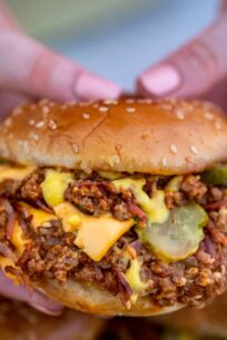 Bacon Cheeseburger Sloppy Joes