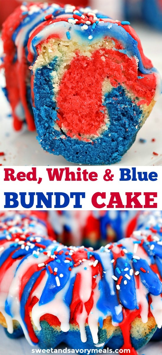 Patriotic Bundt Cake Recipe