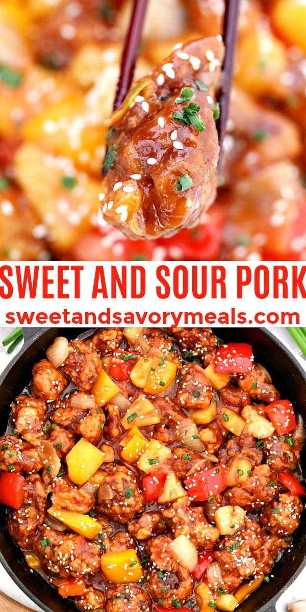 easy sweet and sour pork pin