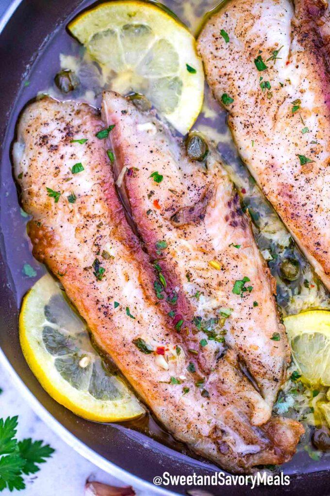 pan fried Swai fish