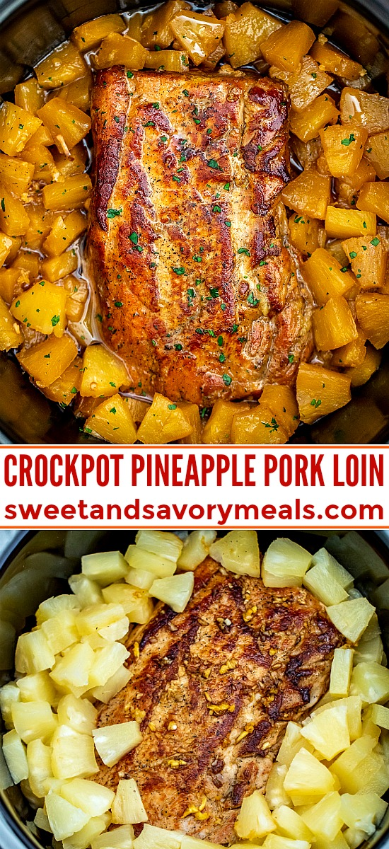 Slow Cooker Pineapple Pork