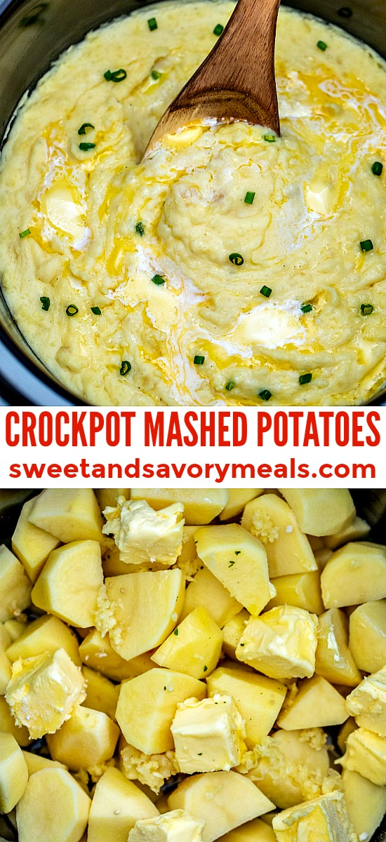 The best slow cooker mashed potatoes