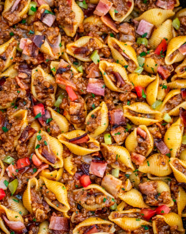 Best Cheeseburger Pasta