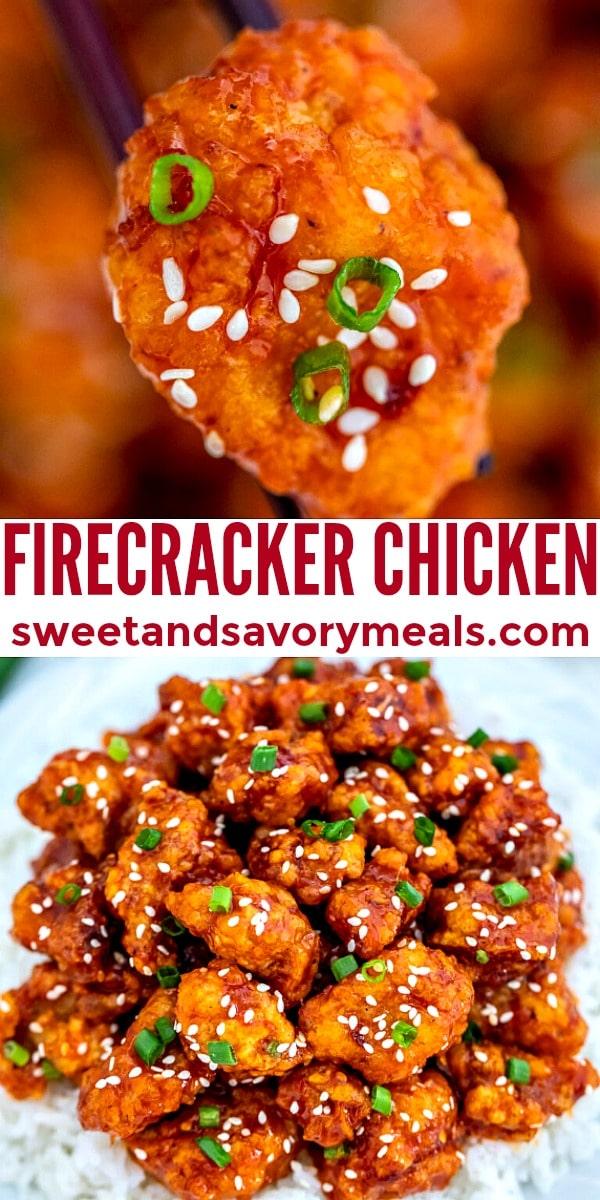easy firecracker chicken pin
