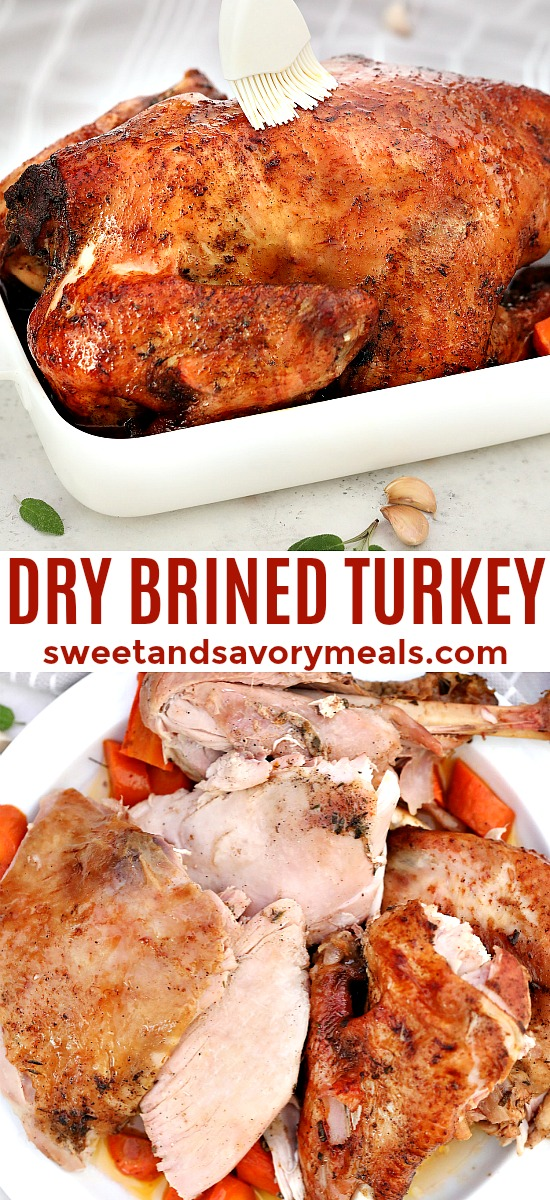 Perfect Dry Brined Turkey Recipe