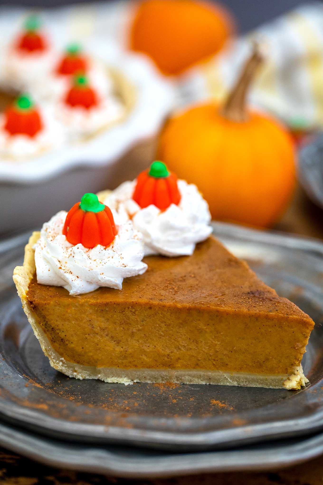 classic pumpkin pie is the perfect pumpkin recipe for thanksgiving