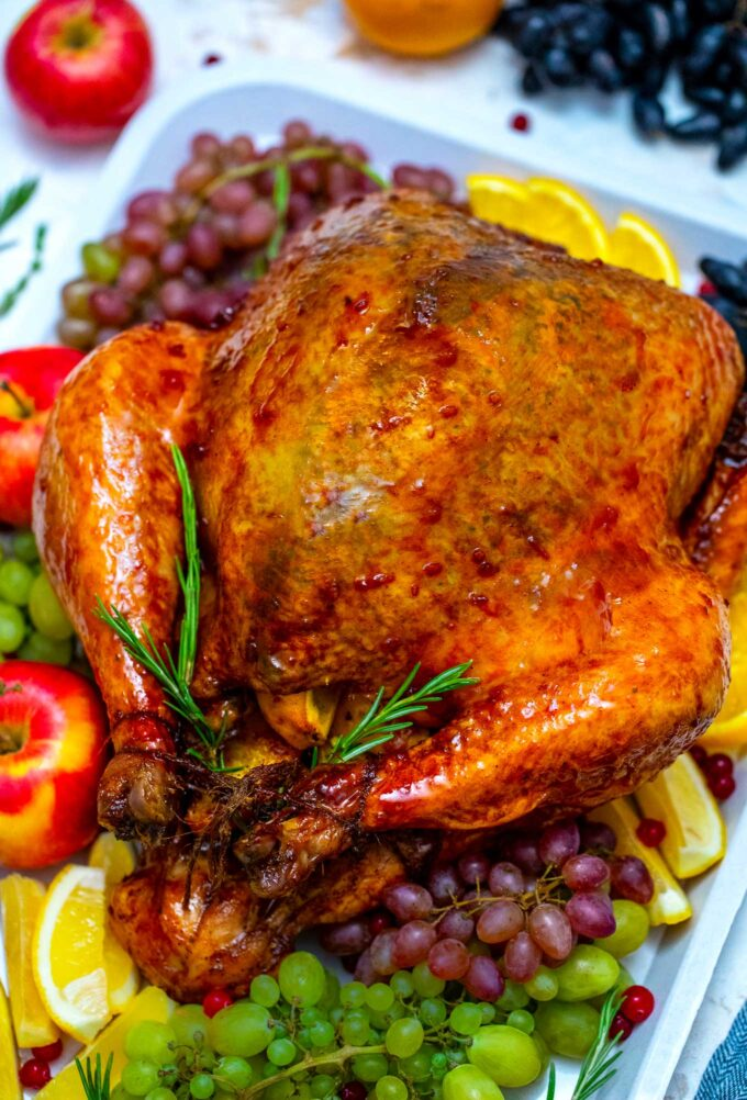 Oven Roasted Turkey Recipe Video Sweet And Savory Meals