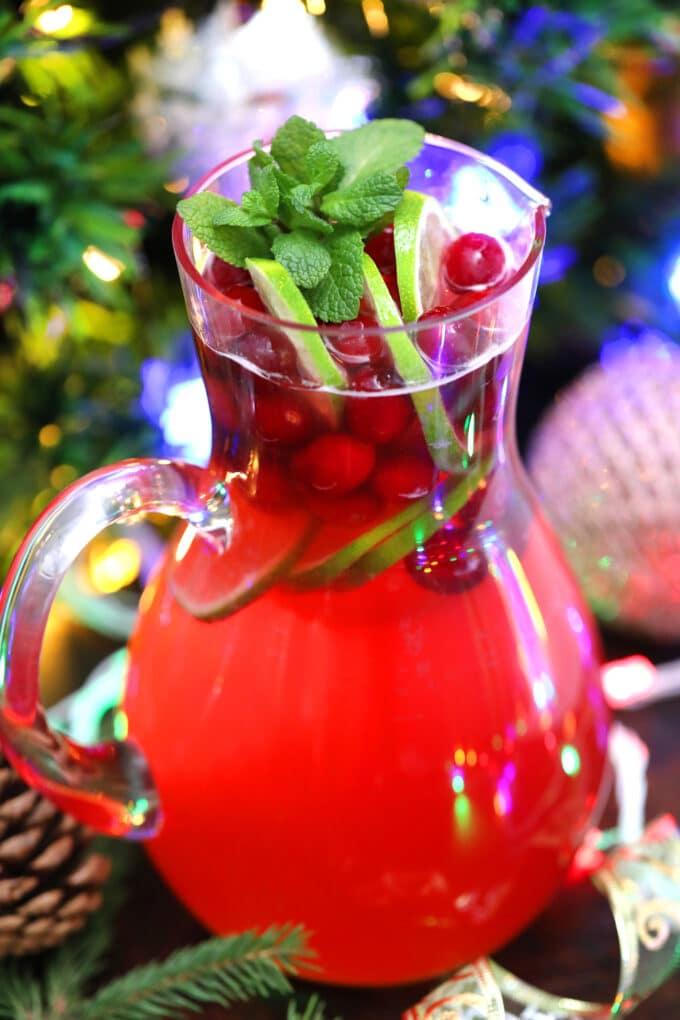 Christmas punch alcoholic recipe