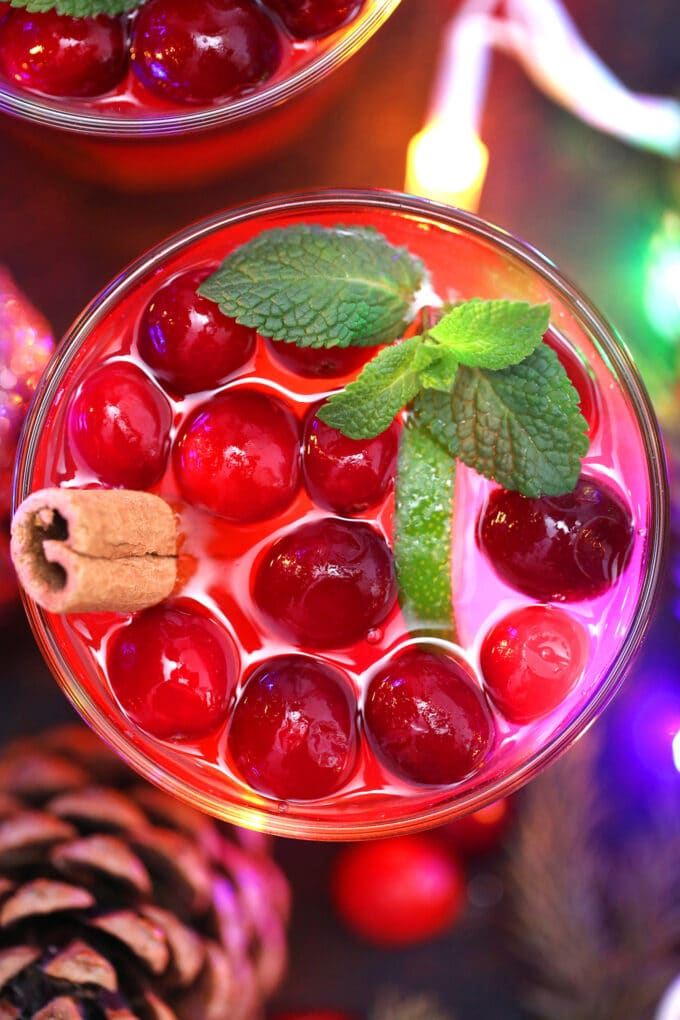 Christmas punch alcohol
