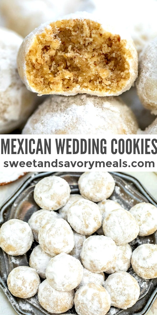 easy mexican wedding cookies pin