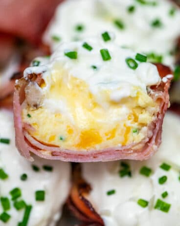Cheesy Prosciutto Cups