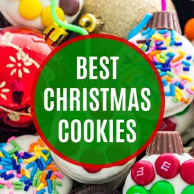 Best Christmas Cookies Roundup #christmas #christmascookies #cookierecipes #christmasrecipes #sweetandsavorymeals